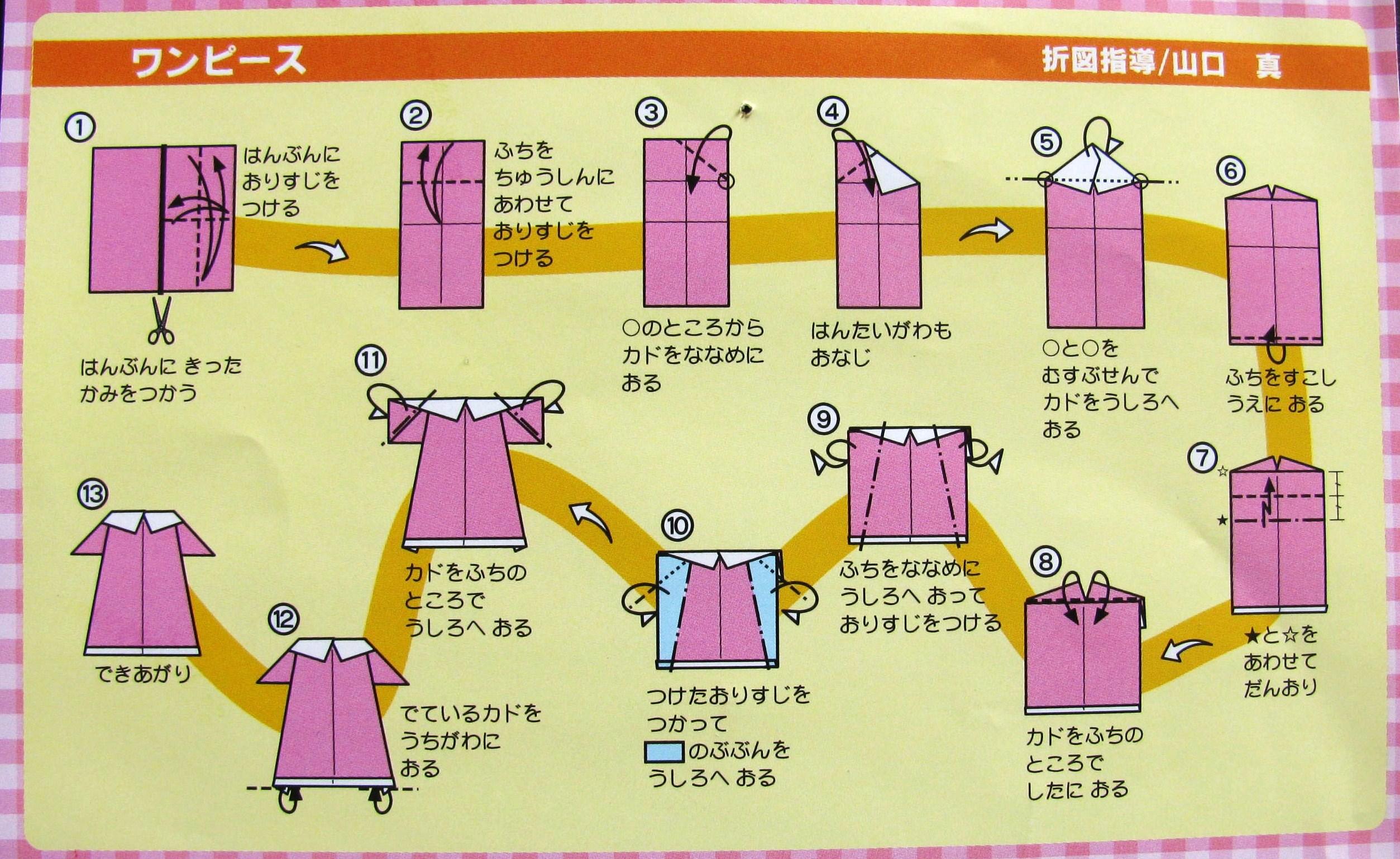 Tuto jupe origami - Robe en origami ...