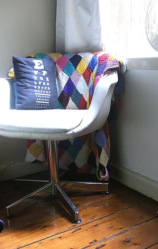 Chairand quilt